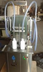 Semi Automatic Hair Oil Filling Machine