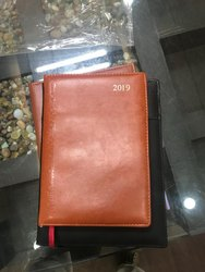 New Year Leather Diary 2019
