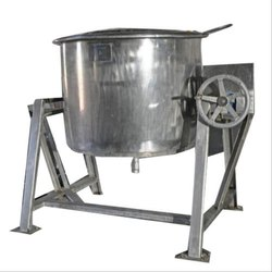 SS Commercial Rice Vessels, Model Name/Number: 304, Capacity: 40-50 L