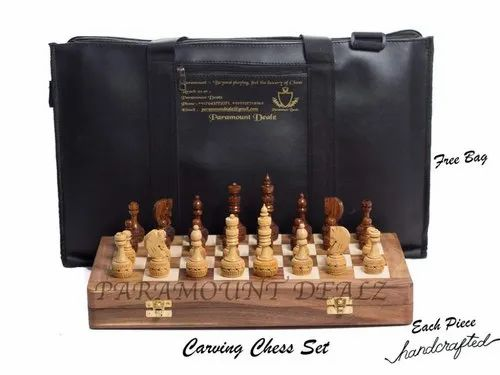 20 inch Folding Vinyl Chess Board Green