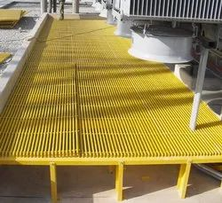Industrial FRP Moulded Gratings