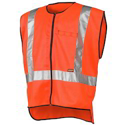 Safety Jackets With Grey Tape