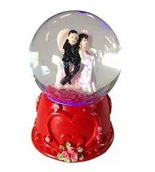 Crystal Ball Showpiece