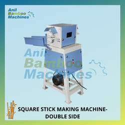 Square Bamboo Stick Making Machine