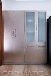 Interiors Like Stainless Steel / Steel Modular Kitchen, Wardrobes, Crockery Units And TV Units Etc