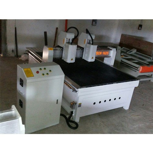 Double Head CNC Wood Working Machine