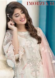 Deepsy Imorzia Vol 11 Georgette Embroidery Pakistani Salwar Kameez