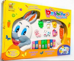 Rabbit Piano Toy