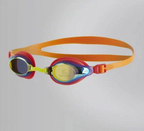 6074189a5ac Speedo Marine Supreme Mirror Junior Goggles Free Size-811320B989(Jaffa /  Watermelon / Gold
