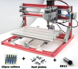 Mild Steel Super Mini CNC Machine, Model Name/Number: 3018