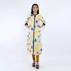 Ladies Casual Wear Printed Fancy Kurti