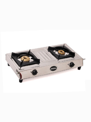 Double Burner SS LP Gas Stoves, For Kitchen