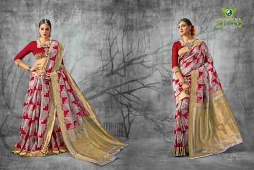 51f9501d54 Silk Sarees - Sanskar Satin Silk Saree Manufacturer from Surat