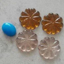 Glass Flower Stone