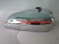 New Norton Model 18 Chrome Gas Fuel Petrol Tank 1930''''s (Reproduction)
