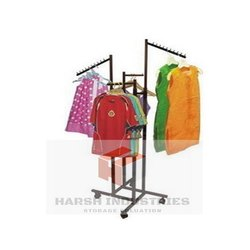 Four Way Garment Hanging Stand