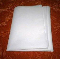 White Disposable Bed Sheet, For Hospital, Size: 36x84