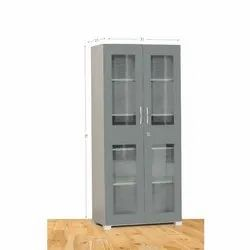 Wooden Gray Cupboard, Size/Dimension: 21 X 35 X 78 Inch