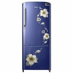 Star Flower Blue Samsung RR20M172ZU2/HL 192 L Direct Cool Single Door Refrigerator