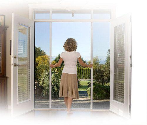 Mirage Retractable Screen Doors
