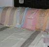 Cream And Multi Color 100% Silk Printed Bed Set Fabric Silk