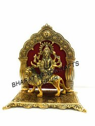 Gold Plated Durga Mata Statue