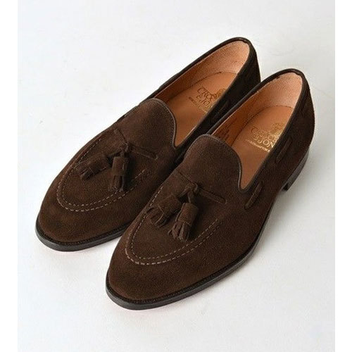 Casual Wear Brown Mens Casual Loafers
