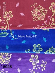 Printed Cotton And Rotto Mix