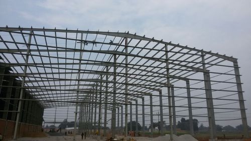 Steel / Stainless Steel Prefabricated Work Shed