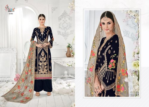 Embroidered Mutiyar Vol 2 Shree Fab Georgette Fabric Suits