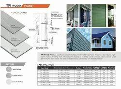 Wood Finish Fiber Cement Plank