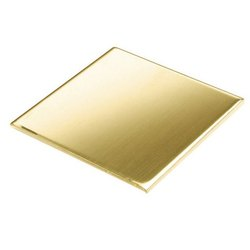 Square Brass Plate
