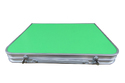Folding Aluminium Laptop Table Baby Table- Green