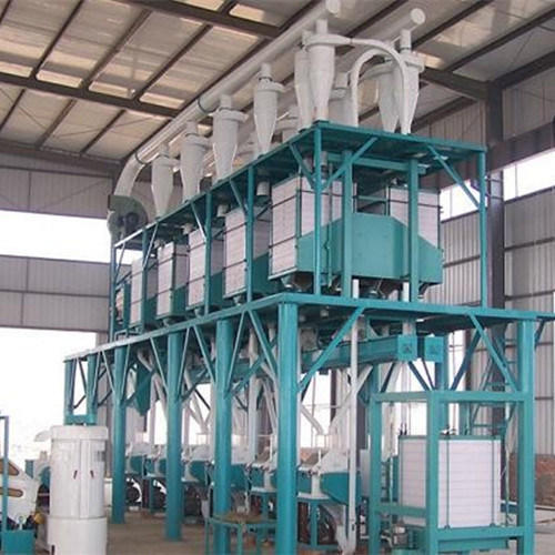 Green-white Maida Flour Mill