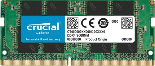 Crucial 8 GB CT8G4SFD8213 LAPTOP DDR4, Voltage: 1.2v
