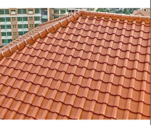 Ceramic Roofing Tiles, Size: 418 X 333mm, Rs 37 /piece Ratilal Ravjibhai  Nariani | ID: 19669719297