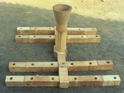 Refractory Bottom Pouring Sets ( IS8) 40%
