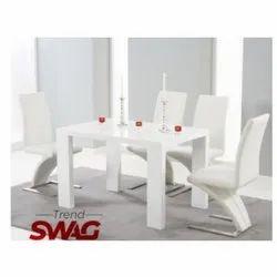 Trend Swag Wooden White Designer Dining Table