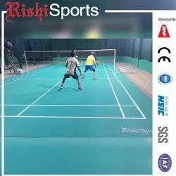Synthetic Surface Badminton Court
