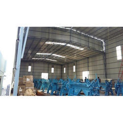 Commercial Shed Structure