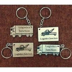 Logistics Company Keychain for Brand Promotion