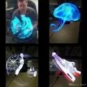 3D Holographic Fan