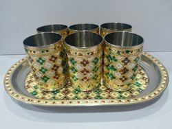 Rajwadi Glass Set