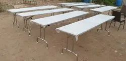 Marriage Hall Stainless Steel Dining Table