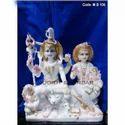 Gauri Shankar White Makrana Marble Statue