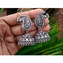 Silver Ci Casting Ladies Fancy Imitation Earring