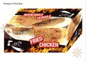 2 Piece Fried Chicken Packaging Box
