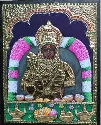 Kula Deivam Tanjore Painting