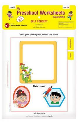 My Preschool Worksheet Self Concept Level 1 Age 3, Children Notebook ...