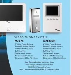 White Video Door Phone Alba, For Security, Model Name/Number: E7E43CN